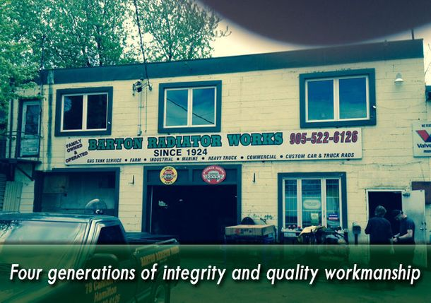 Four generations of integrity and quality workmanship | Front of shop